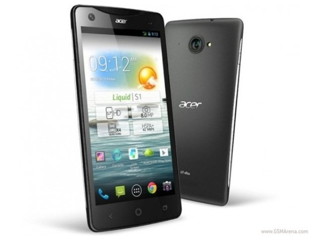 Acer Liquid S1 8GB Dual Sim  Black